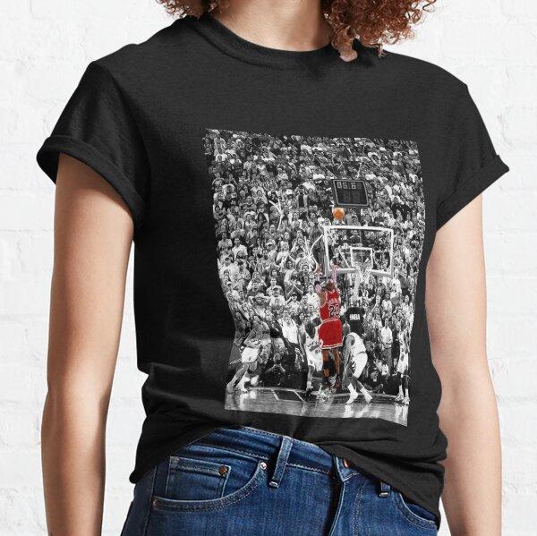 Best Quality Michael Jordan Shot Over Russell Classic T-Shirt