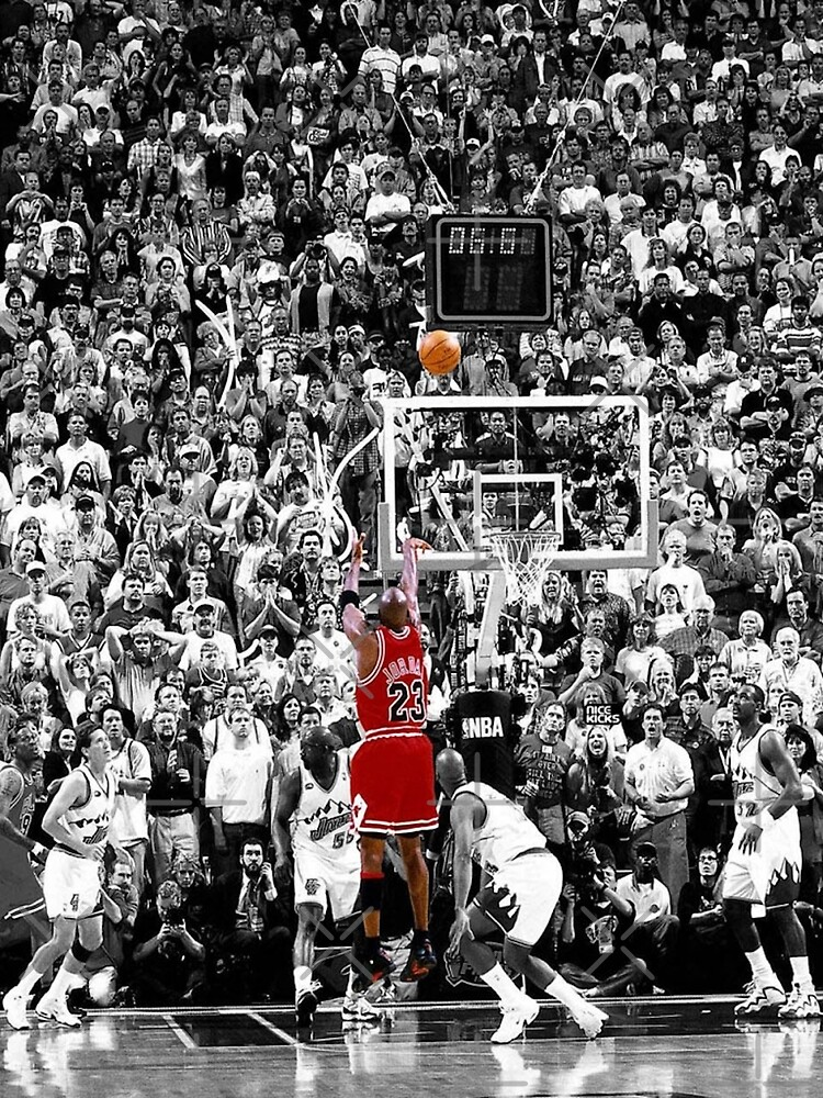 Best Quality Michael Jordan Shot Over Russell by FunnyMonkey