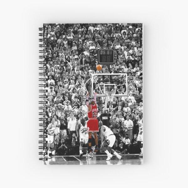 Best Quality Michael Jordan Shot Over Russell Spiral Notebook