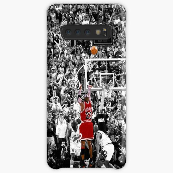 Best Quality Michael Jordan Shot Over Russell Samsung Galaxy Snap Case