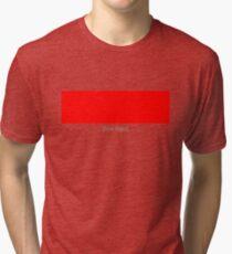 Red [Box Logo] Tri-blend T-Shirt