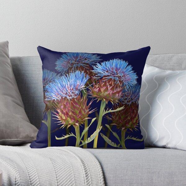 Scottish Thistle Throw Pillow