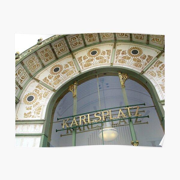 Karlsplatz Poster