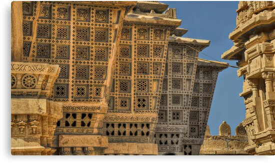 Jain temple by Peter Hammer