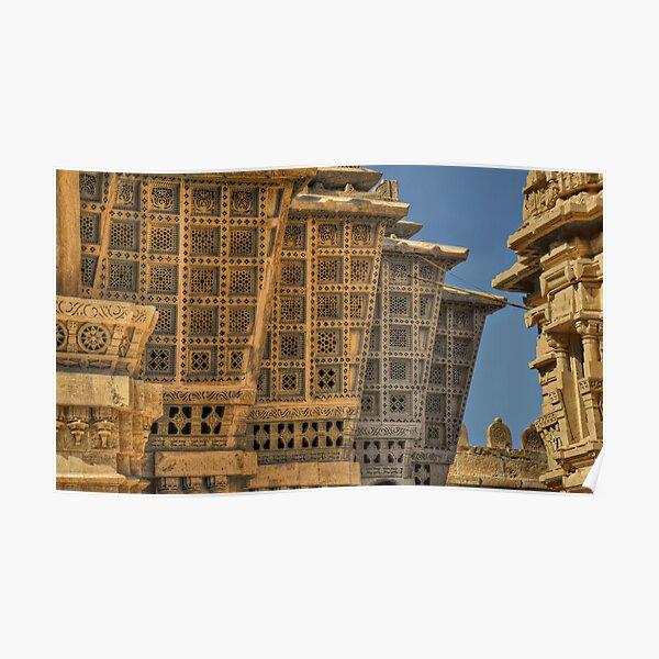 Jain temple Poster