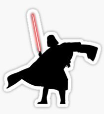 Darth Vader shadow style Sticker
