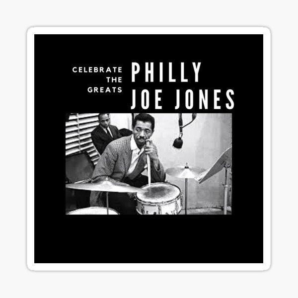 Philly Joe Jones: Great Jazz Drummer/ Musician Sticker