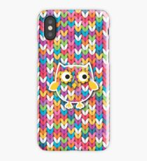 Knitted Owl iPhone Case