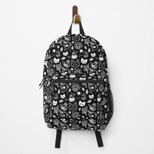 Herb Witch // Black & White Backpack