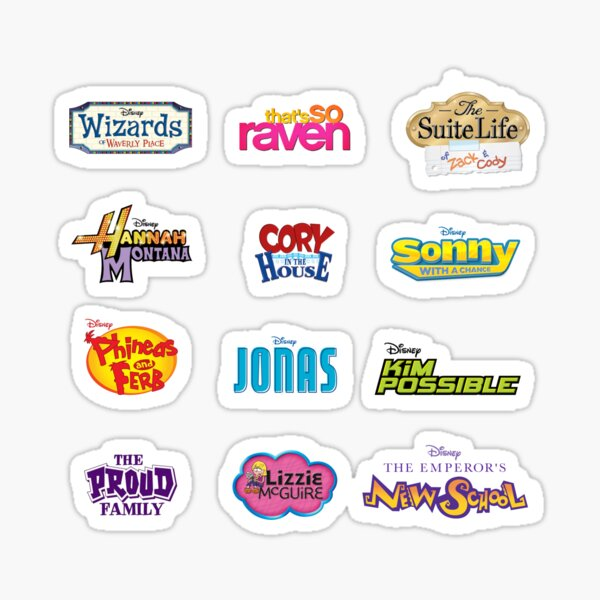 Nostalgic Disney Show Sticker Pack #1 Sticker