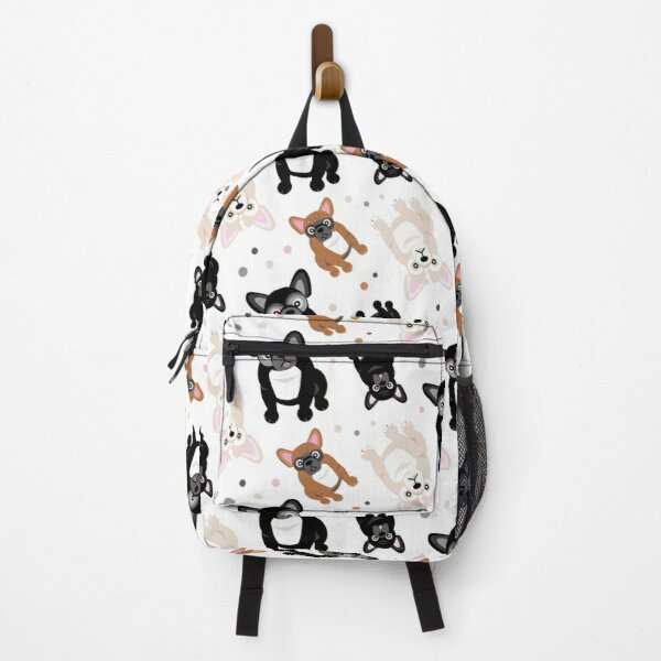 Cute Frenchies French Bulldog Pattern Backpack