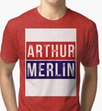 Arthur & Merlin Tri-blend T-Shirt