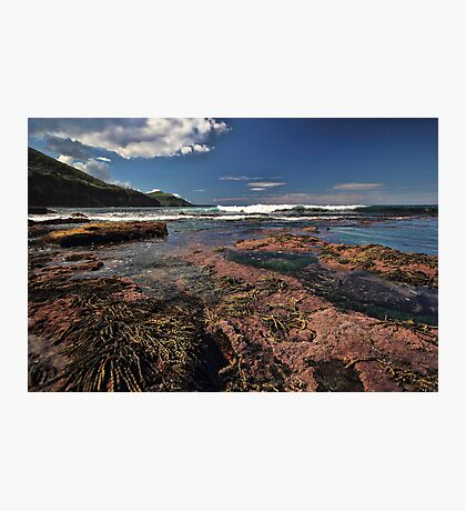 Low Tide Colours Photographic Print