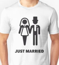 Just Married (Bridal Couple) T-Shirt