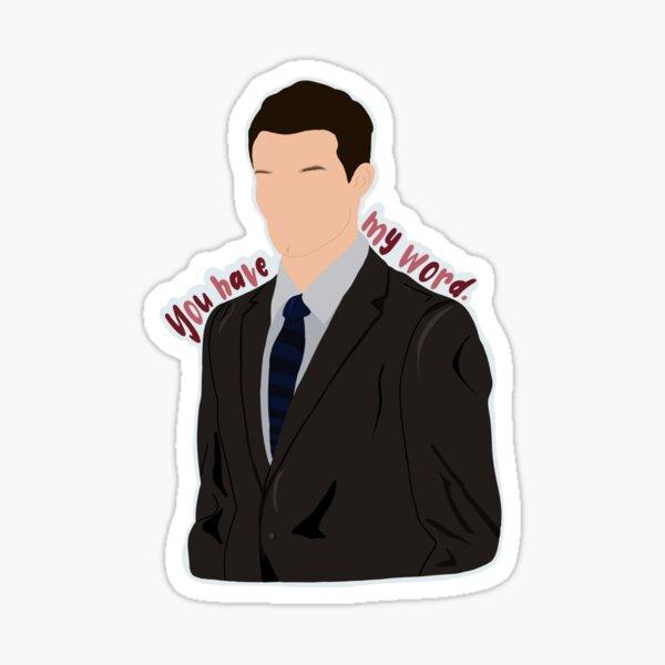 "Elijah ""You have my word."" Sticker"