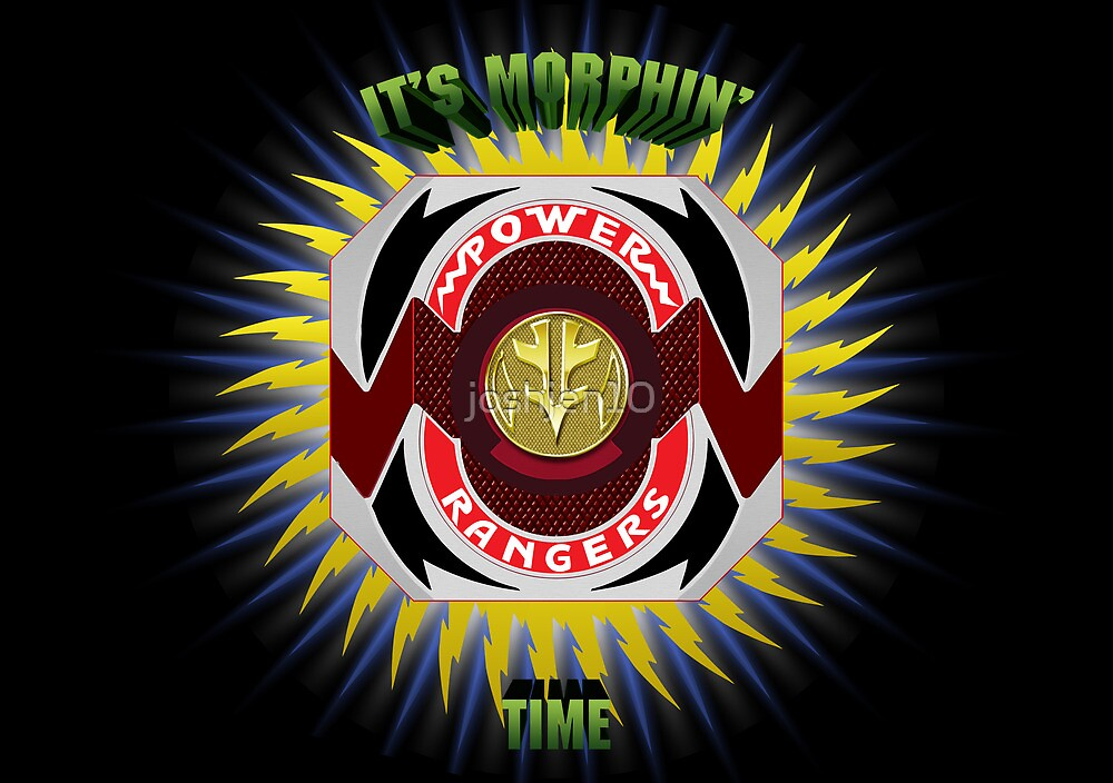 It's Morphin' Time by joshjen10