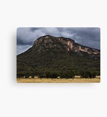 Mountains At Glen Davis Canvas Print