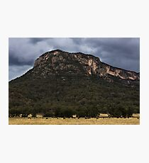 Mountains At Glen Davis Photographic Print