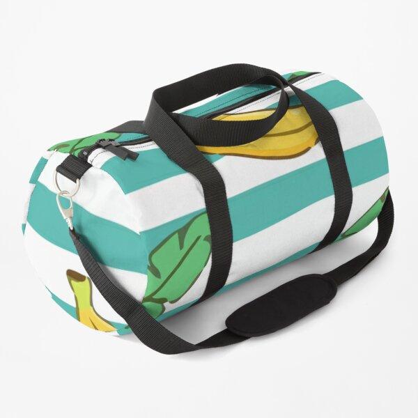 Watercolor green avocado pattern Duffle Bag