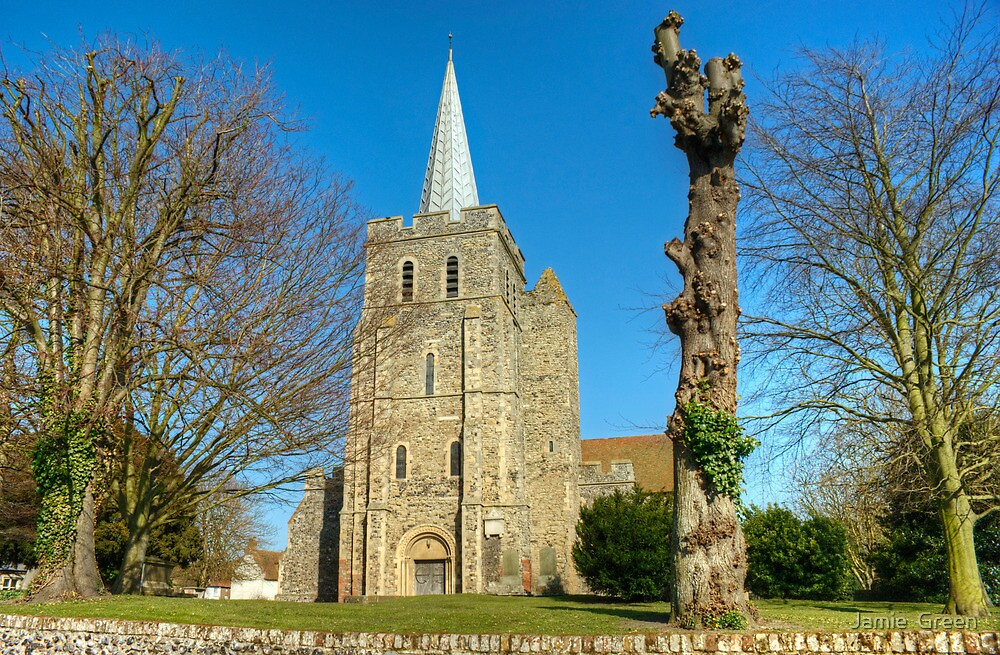 St Mary The Virgin Church,Minster-in-Thanet by Jamie  Green