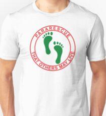 Pararescue PJ Feet Unisex T-Shirt
