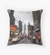 Square Cops Throw Pillow