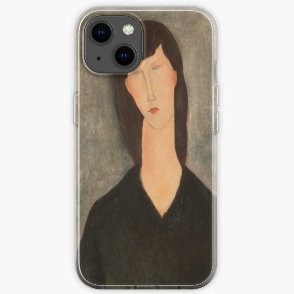Amedeo Modigliani - Buste De Femme 1917 iPhone Soft Case
