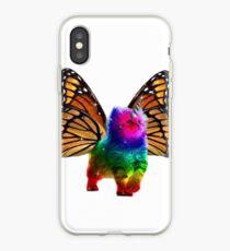 BUTTERFLY RAINBOW UNICORN CAT iPhone Case