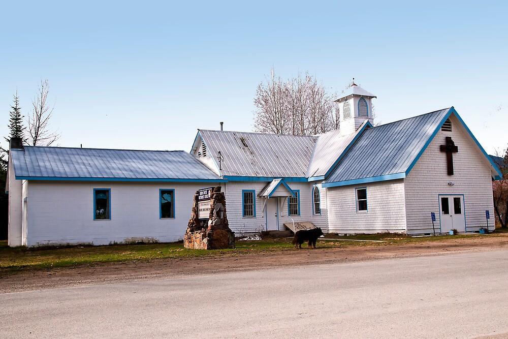 Heron (Montana) United Methodist Church by Bryan D. Spellman
