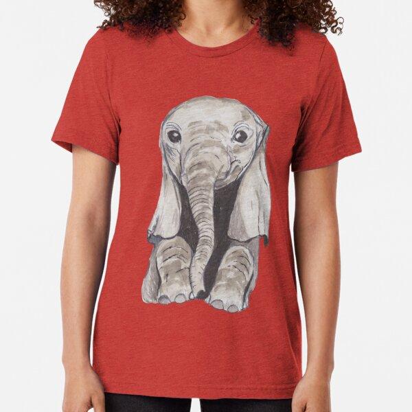 Elephant Abstract Kid/'s T-Shirt Children Boys Girls Unisex Top