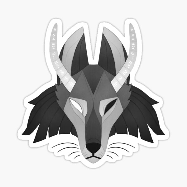 Marad the fox Sticker