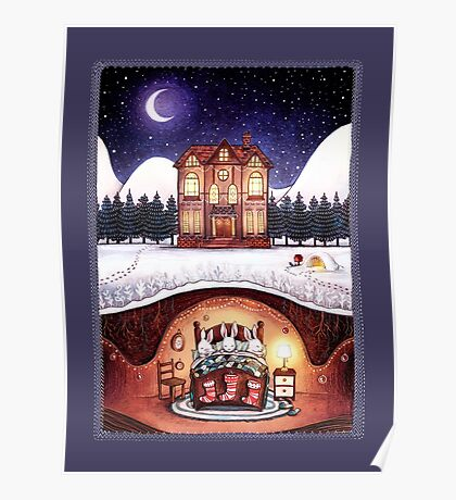 Christmas in the Burrow Poster