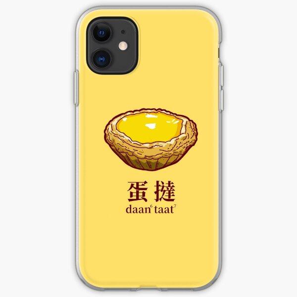 Egg Tart iPhone Soft Case