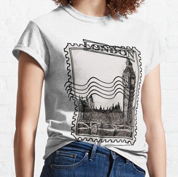 London Post Stamp Classic T-Shirt