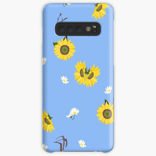 Summer Sunflower Pattern Samsung Galaxy Snap Case