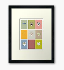 The kids Framed Print