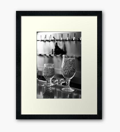 Beergredients Framed Print