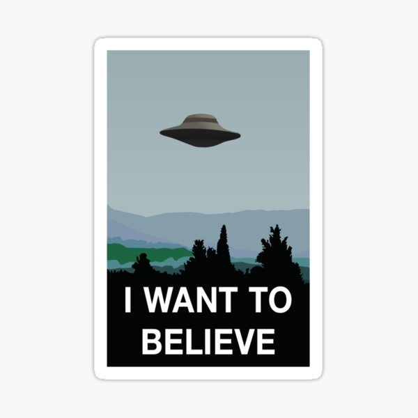 X files sticker Sticker