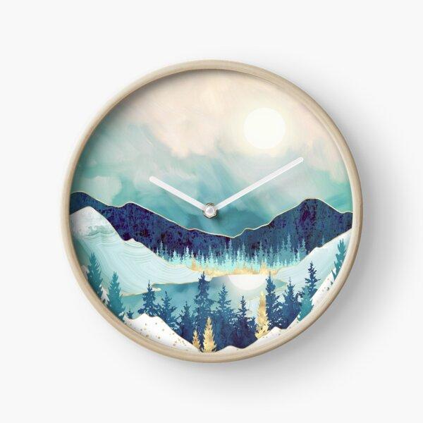 Sky Reflection Clock