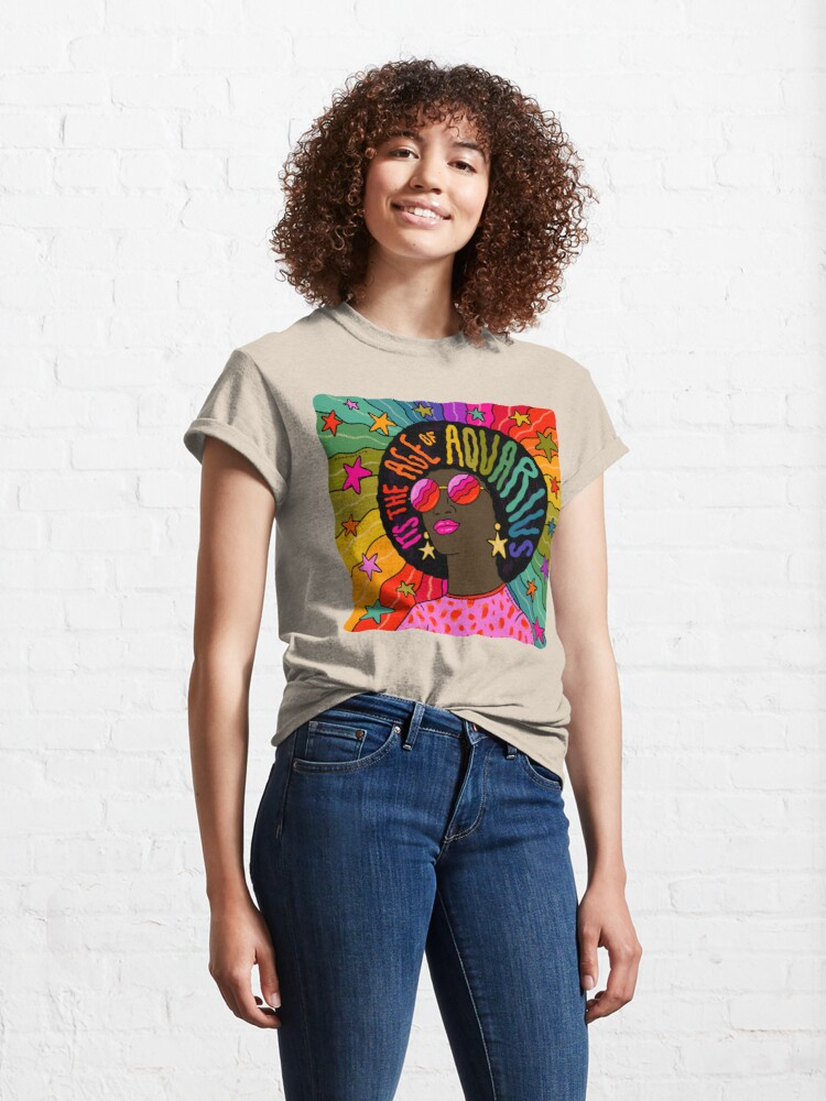 Alternate view of Age of Aquarius Classic T-Shirt