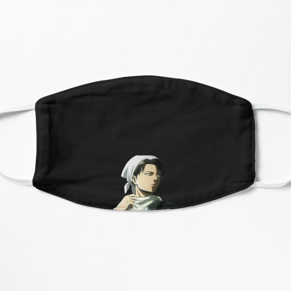 Levi Ackerman in his cleaning suit Flat Mask