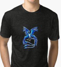 Articuno Pokemon Legendary Bird Tri-blend T-Shirt
