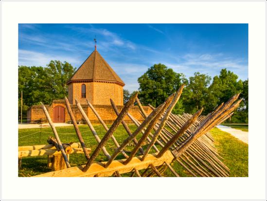 Gunpowder Birth - Colonial Williamsburg by Mark Tisdale