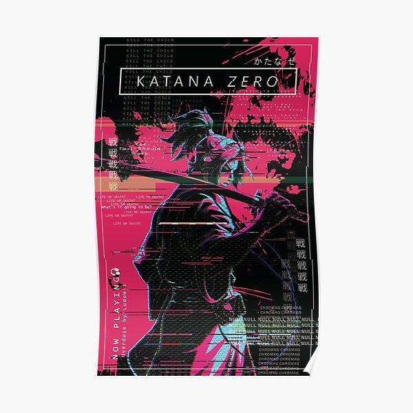 Katana Zero Option 2 Poster