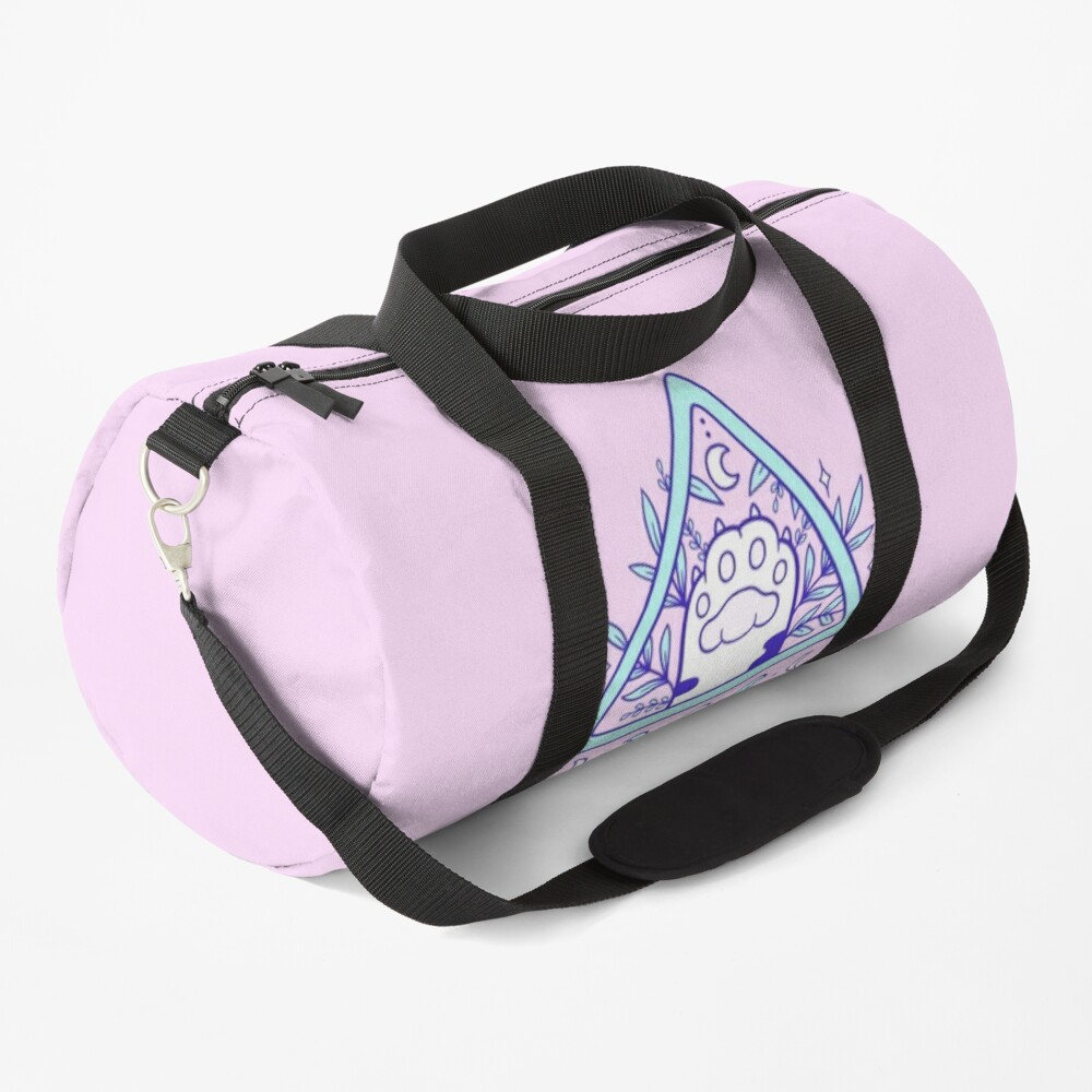 Witchy Cat Paw 03 Duffle Bag