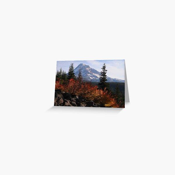 Mt Hood 8910_101610 Greeting Card