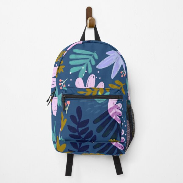 PLANTS IN BLUE Backpack