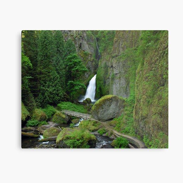 Wahclella Falls 1614_051716 Metal Print