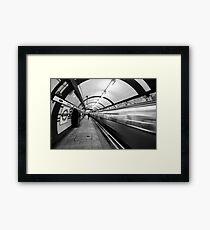 Hampstead Underground Tube Station London Framed Print