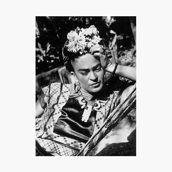 Frida khalo artist painter duvet cover Photographic Print